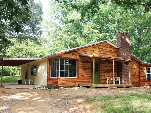 3 Bedroom 2 Bath Ranch Style Home : Linden : Perry County : Tennessee