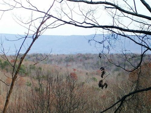 5.35 Acres, Bluff Lot, Streams : Pikeville : Bledsoe County : Tennessee