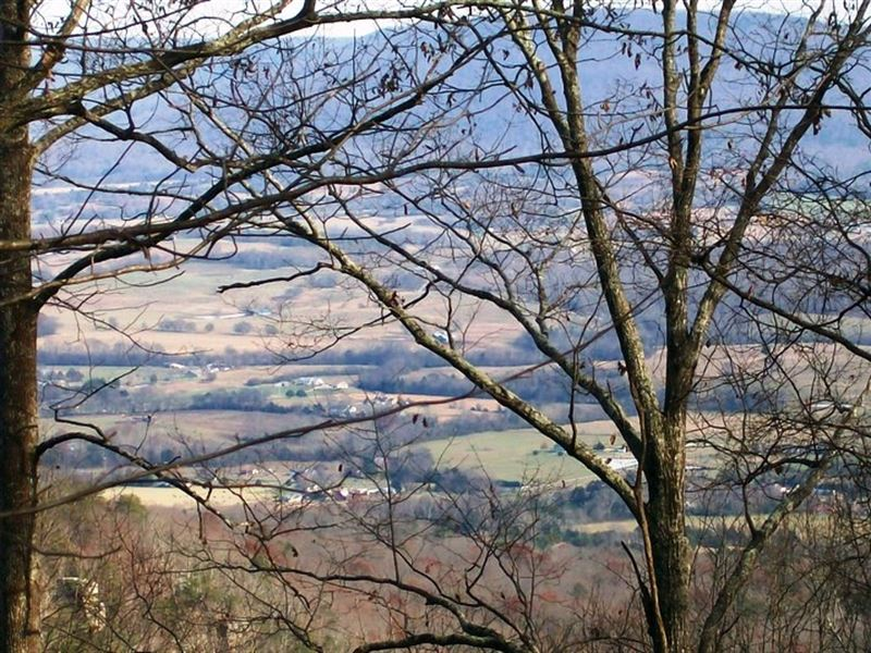 8.36 Acres, Bluff Lot, Views : Pikeville : Bledsoe County : Tennessee