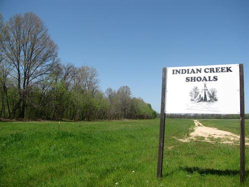 Indian Creek Lot, Waterfront Land : Savannah : Hardin County : Tennessee