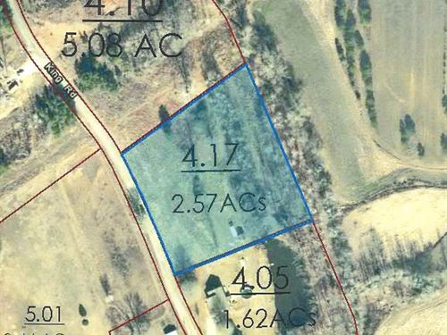 2.57 Acre Lot McNairy County, TN : Selmer : McNairy County : Tennessee