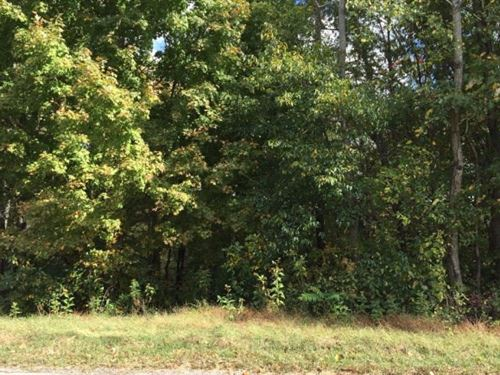 Wooded 1 Acre Lot Center Hill Lake : Smithville : Dekalb County : Tennessee