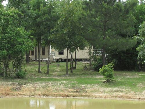 Country Home Hunting Land Property : Blossom : Lamar County : Texas