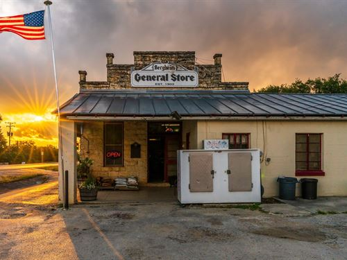 Historic Commercial Property : Boerne : Kendall County : Texas