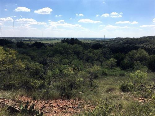 Homesite Beautiful Views Central : Brownwood : Brown County : Texas