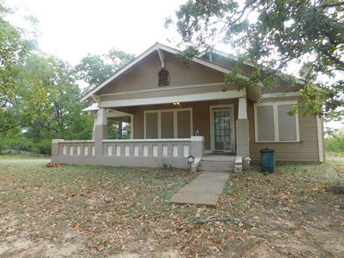 House Acreage, Buffalo, Tx, Leon : Buffalo : Leon County : Texas