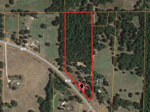 East Tx Rural Acreage Country Home : Bullard : Cherokee County : Texas