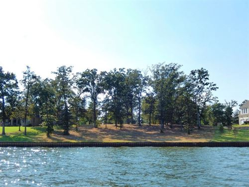 Gated Waterfront Lot Brown's : Chandler : Henderson County : Texas