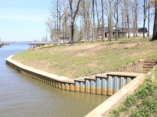 Brown's Landing Waterfront Lot Lake : Chandler : Henderson County : Texas