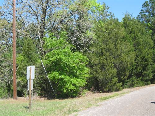 Small Acreage Frankston, East Texas : Frankston : Anderson County : Texas