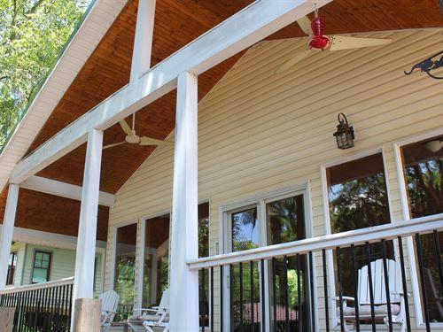 Lakefront Home Caddo Lake Big : Karnack : Harrison County : Texas