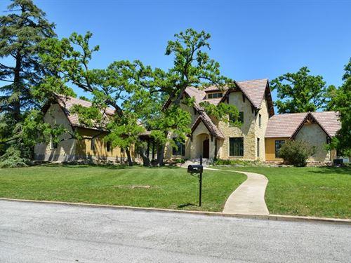 Luxury Home Kerrville Tx, Elegant : Kerrville : Kerr County : Texas