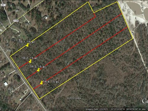 15 Acres Wooded Residential Land : Lufkin : Angelina County : Texas