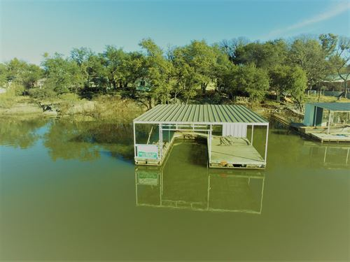 Waterfront Home Ready For You Lake : May : Brown County : Texas