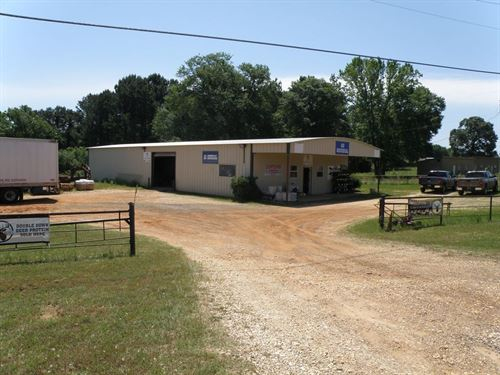 Commercial Building Warehouse : Palestine : Anderson County : Texas