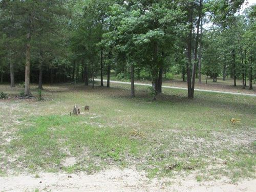 Neches Trace Lot To Build Dream : Palestine : Anderson County : Texas