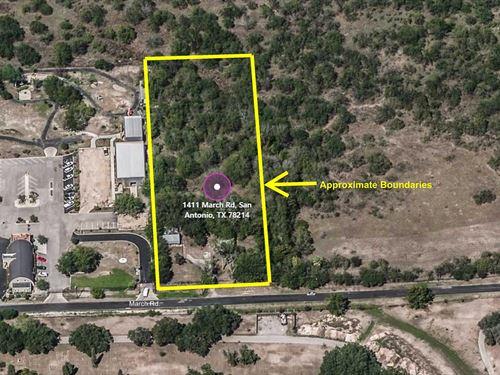 Acreage Lot Downtown San Antonio : San Antonio : Bexar County : Texas