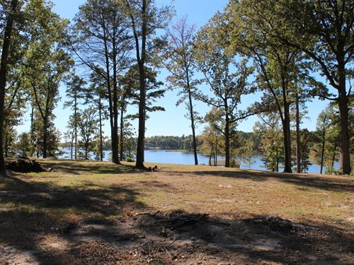 Lakefront, Almost 1 Acre Lot Lake : Scroggins : Franklin County : Texas
