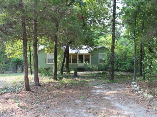 East Texas Country Home Almost 18 : Winnsboro : Wood County : Texas