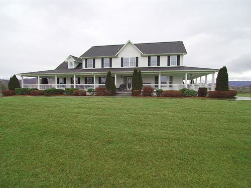 Blue Ridge Mountain Home Expansive : Elk Creek : Grayson County : Virginia