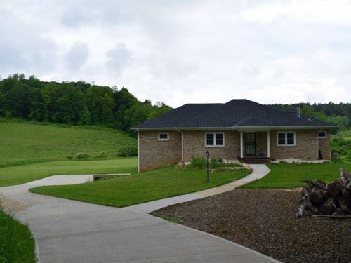 Custom Home Acreage in Floyd VA : Floyd : Virginia