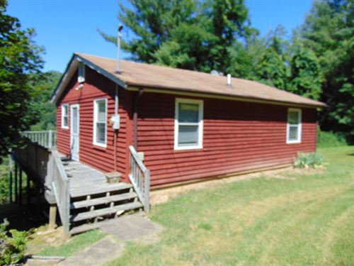 Two Homes 8+ Acres Overlooking : Galax : Grayson County : Virginia