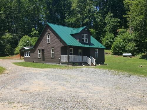 Homesteader's Dream Located Patrick : Stuart : Patrick County : Virginia