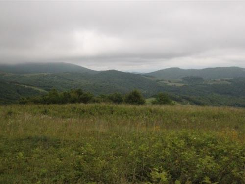 Land For Sale With Great Views : Whitetop : Grayson County : Virginia