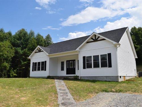New Country Home in Floyd VA : Willis : Floyd County : Virginia
