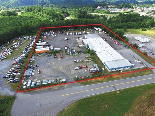 Commercial Property Along I-81 : Wytheville : Wythe County : Virginia