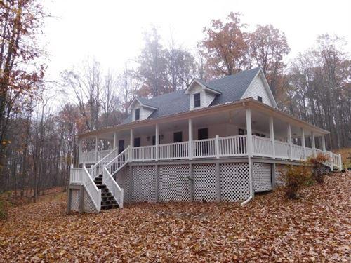 Cape Cod in Augusta, WV : Augusta : Hampshire County : West Virginia