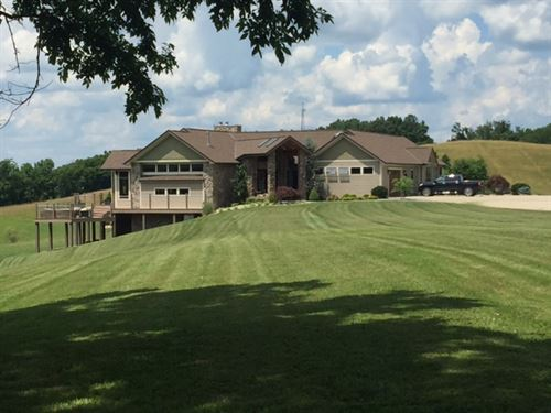 Premier West Virginia Luxury Home : Friendly : Tyler County : West Virginia