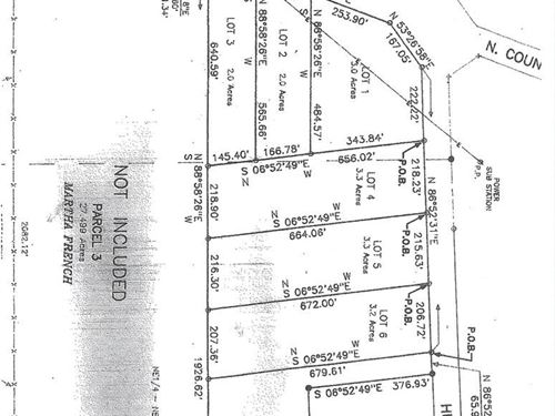 2 Acre Lot In Houston County, Al : Columbia : Houston County : Alabama