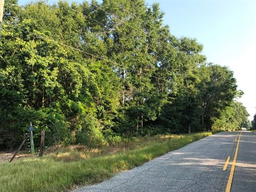 10.5 Acres 4 Miles Below Ross Clark : Dothan : Houston County : Alabama