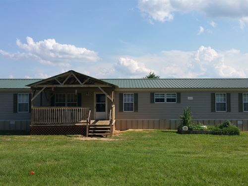 Private Home on 10 Acres : Midland City : Dale County : Alabama