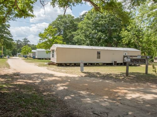14 Unit Mobile Home Park South : Andalusia : Covington County : Alabama