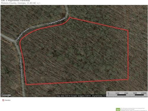11.83 Acres, Georgian Highlands : Jasper : Pickens County : Georgia