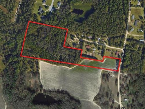 11.8 Acres Hightower Road : Statesboro : Bulloch County : Georgia