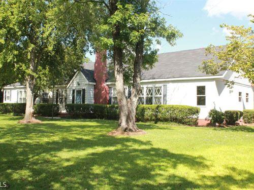 3Bd/2Ba 1900S Home on 3+ Acres : Sylvania : Screven County : Georgia