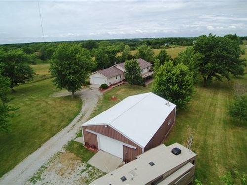 Monroe County, IA Country Acreage : Albia : Monroe County : Iowa