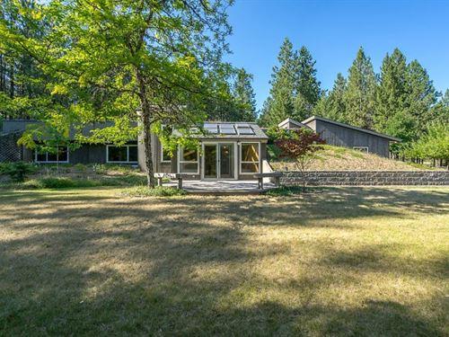 Earth Sheltered Home Coeur Dalene : Coeur D'alene : Kootenai County : Idaho