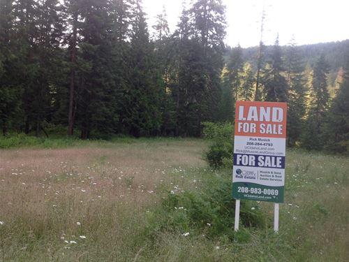 Private Campsite Dworshak Reservoir : Orofino : Clearwater County : Idaho
