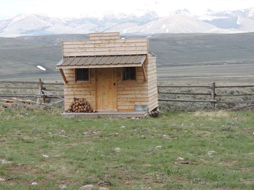 Off Grid Cabin Gilmore Idaho 83464 : Salmon : Lemhi County : Idaho