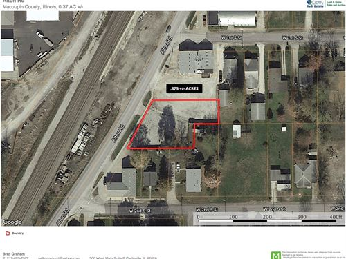 Commercial Lot For Sale : Carlinville : Macoupin County : Illinois