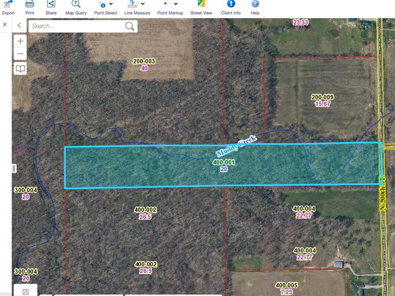 20 Acres on North 200th, Oblong, IL : Oblong : Crawford County : Illinois