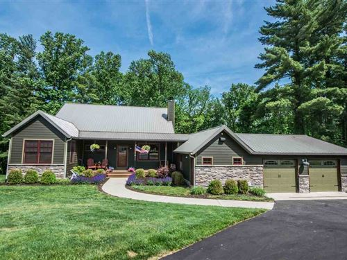 Southern Indiana Country Home : Unionville : Monroe County : Indiana