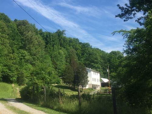 Beautiful Amish Built Home 14 Acres : Columbia : Adair County : Kentucky