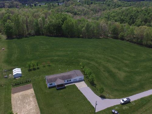 Home Garage & Outbuilding 6 Acres : Liberty : Casey County : Kentucky