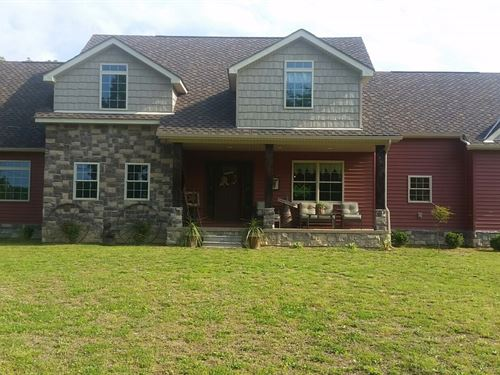 Newly Constructed, Country Home : Liberty : Casey County : Kentucky