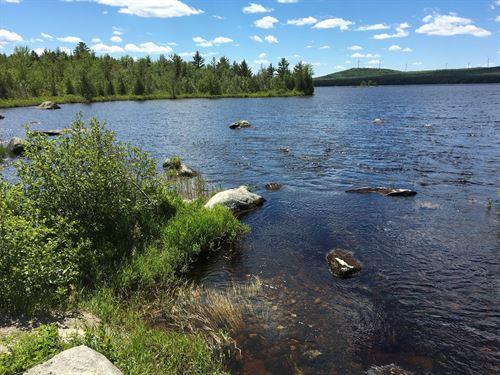 Maine Waterfront Land Burlington : Burlington : Penobscot County : Maine